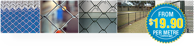 chain wire security fencing