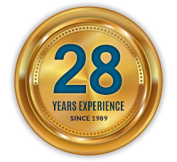 over 28 years of experience