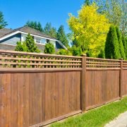 properly installed timber fencing