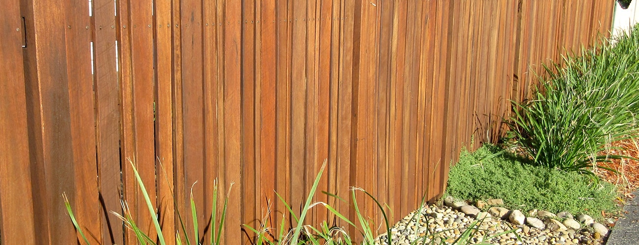 solid timber fencing australia