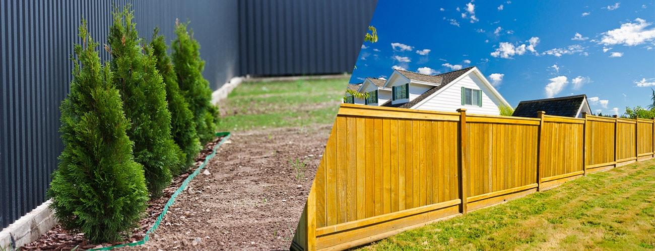 steel fencing versus timber fencing