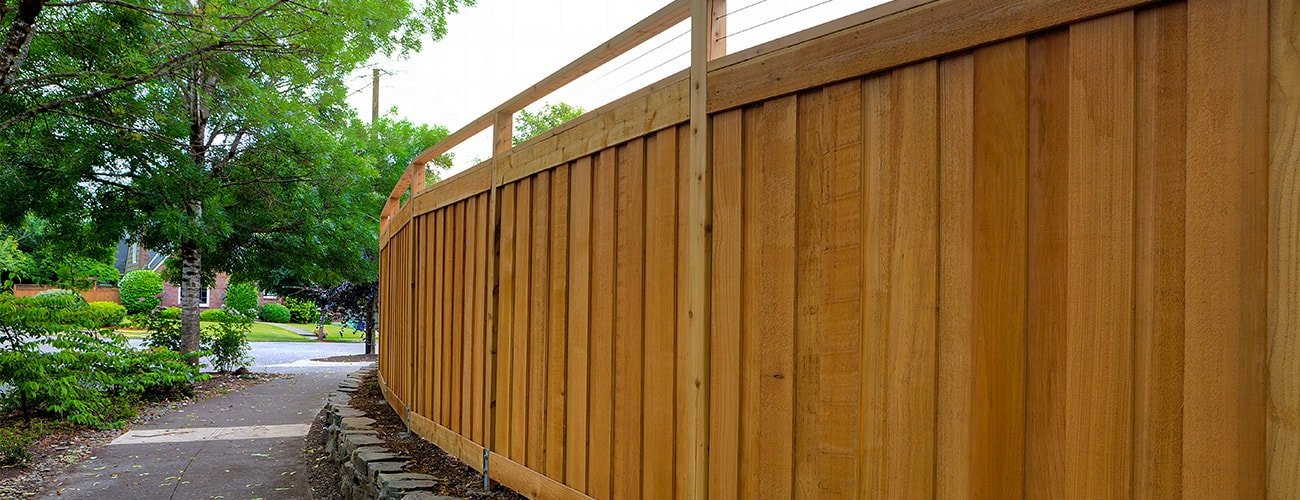 sydney residential timber fencing