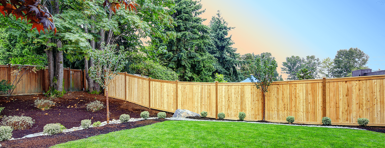 Lapped and Capped Timber Fencing