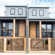 Duplex in Melbourne with Timber Fencing