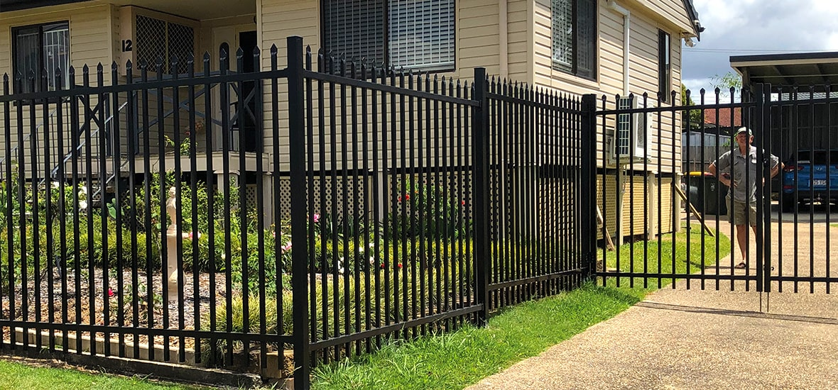 Steel and Timber Gates