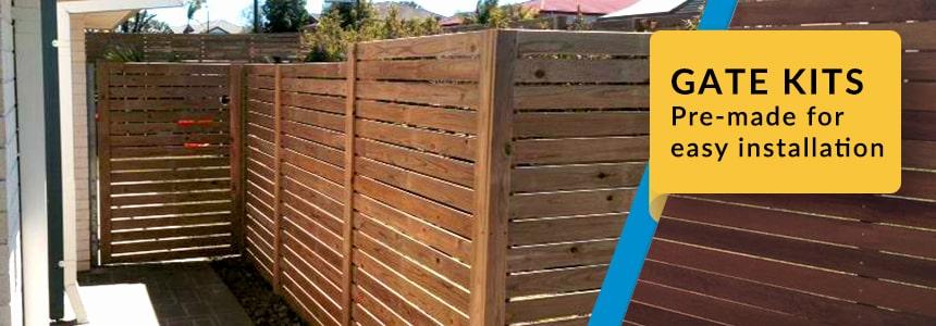 Timber Wood Gate Kits