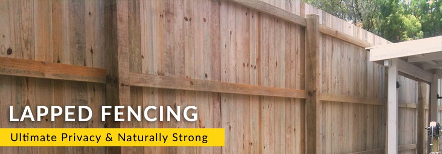 Lapped Timber Fencing