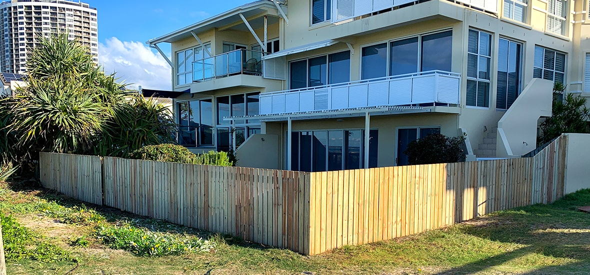 Treated Timber Fencing